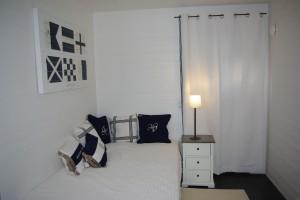 Gästrum - Badhuset helt i marin stil