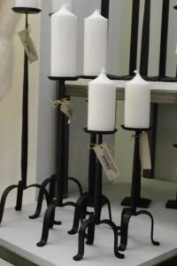 Nya smidesstakar för blockljus från Spegels Hemslöjd