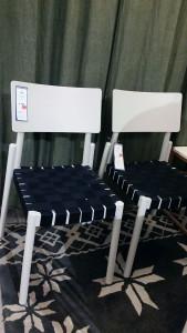 2 st Flex stolar med sadelgjord från Hans K. NU 2.150 för båda Op 4.300.